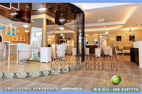 贵州省贵阳市欧式风格美发店装修设计案例